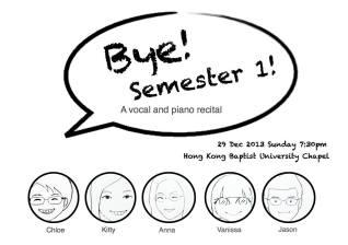 Bye Semester 1